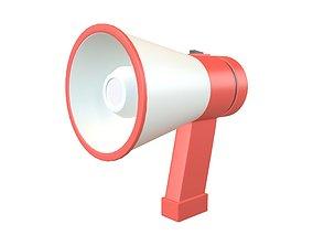 Loudspeaker v1 001 3D asset