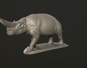 sculptures 3D printable model Arsinoitherium zitteli