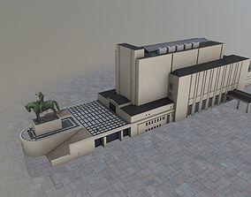 3D asset Prague Vitkov Memorial