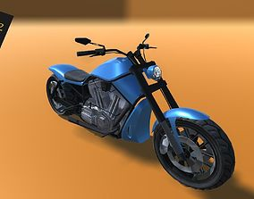 Game Ready Bike 3D asset realtime