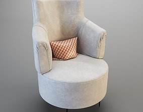 contemporary furniture Armchair 3D