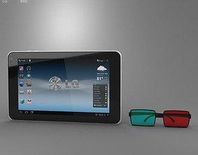 3D model T-Mobile G-Slate
