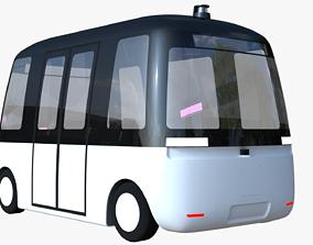 3D Muji Gacha autonomous minibus