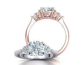 1ct Diamond Engagement ring Classic ring