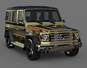 Mercedes Benz G55 AMG - Gold Styling 3D