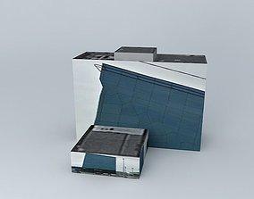 SEB Bank building 3D