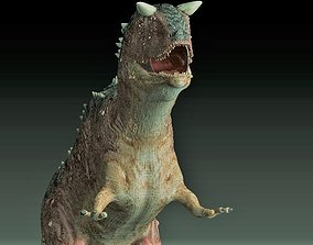 Carnotaurus dinosaur trex 3D model