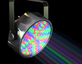 3D Compact Colorful Spotlight