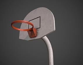sport 3D asset realtime Basketball Hoop