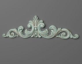 3D print model ornament Cartouche