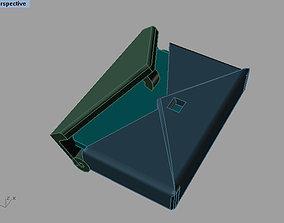 envelope pendant 3D print model