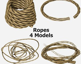 3D 4 Different Rope Models