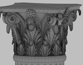 Column 3D ancient