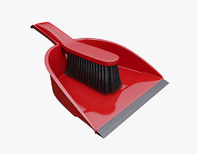 3D Broom Dustpan Set