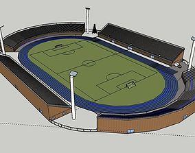 3D simple stadium
