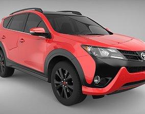 Toyota rav4 2016 3D model