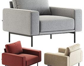 BT design Piu Single Sofa 3D