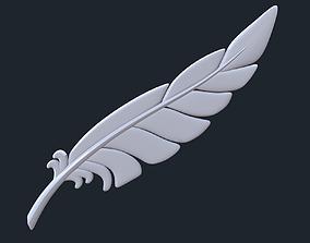 Posable Feather Set 3D printable model