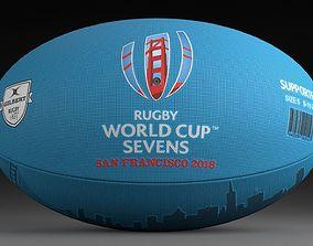3D RWC Sevens 2018 ball SUPPORTER