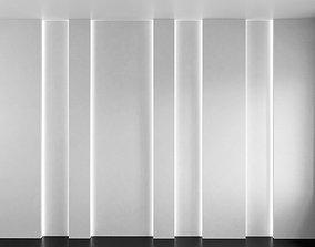 3D model Wall Panel Set 155