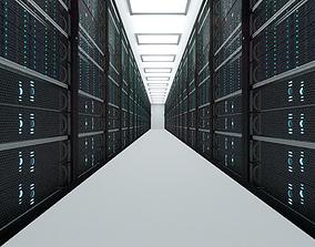3D model Server room