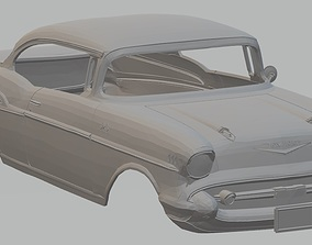 Chevrolet 210 Sport Coupe 1957 Printable Body Car