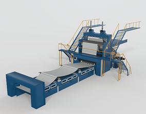 Paper Making Equipment 3D model