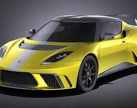3D model Lotus Evora GTE 2012 VRAY
