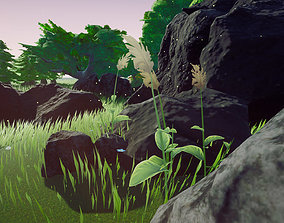 3D model Stones and Rocks FREE Mini Pack - Unreal Engine 4