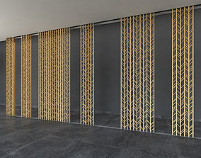 Decorative Screen Panel 3D model game-ready