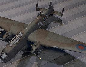 Avro Manchester Mk-1 3D model