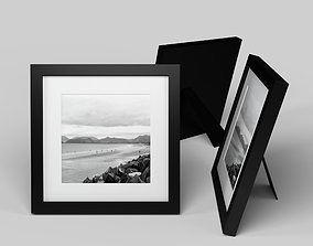 Modern Picture Frame - Seaside Photo 3D model