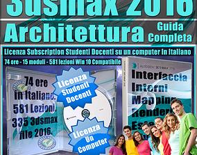 Corso 3ds max 2016 Architettura Guida Completa 1