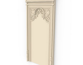 3D model amored Wall decoration