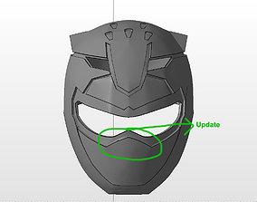 3D print model Power ranger red Go-Buster helmet