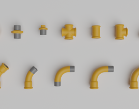 3D Gas pipes