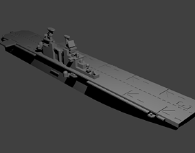 3D print model US Wasp Class Helicopter Carrier