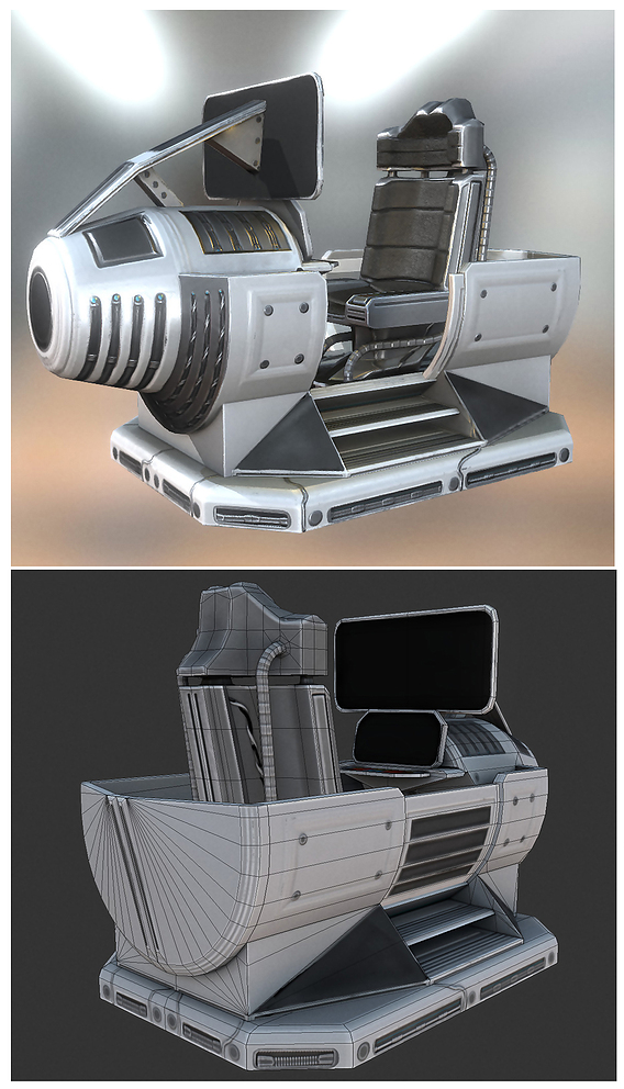 Scifi Vehicle Control Module (Basic-Version)