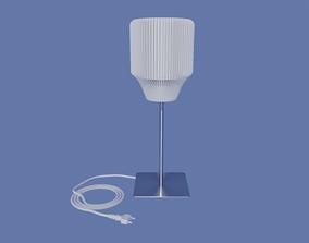 3D print model Table lamp shade for standard E27 mount 1