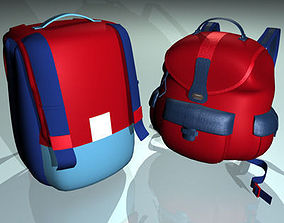 backpack 01 3D model