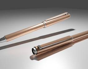 Ballpoint pen 3D asset