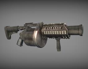 MK32 Grenade Launcher 3D asset