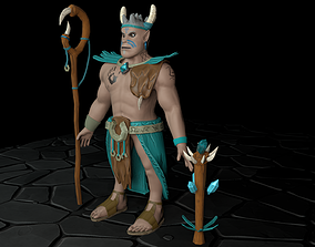 3D model Grohk Paladins Character