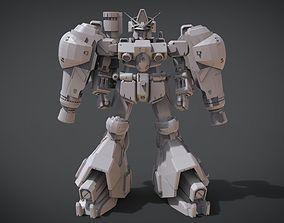RX-78 GP-02A 3D print model armour