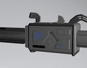 CW The Flash Season 3 - Speed Force Bazooka 3D asset