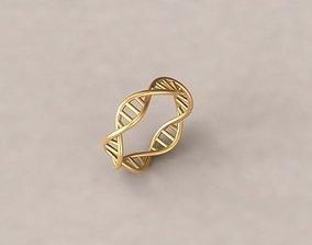 3D print model Spiral ring