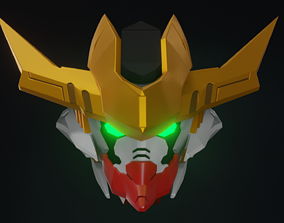 Barbatos Helmet Rex and FREE Mask 3D printable model