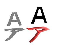 Japanese Character AAA 3D asset