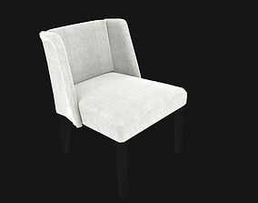 grey chair 3D model VR / AR ready