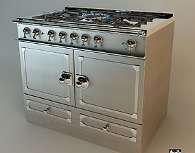 3D model SieMatic Beaux Arts Gas Cooker